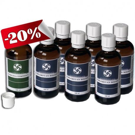 6x Chloritan sodný MMS Kvapky